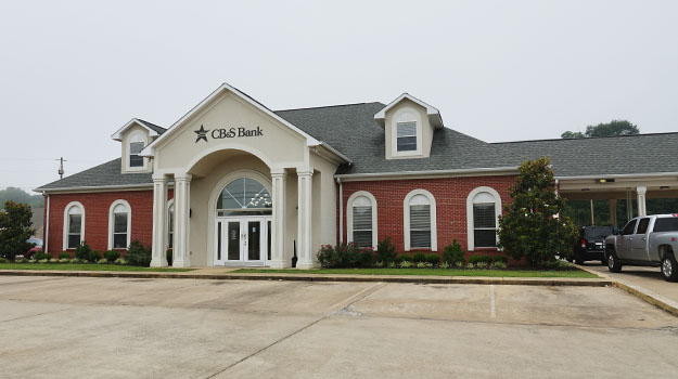 CB&S Bank in Corinth, MS on Harper Road