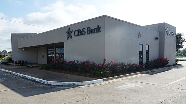 CB&S Bank in Greenville, MS on Highway 1