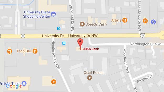 Huntsville Al University Dr Cb S Bank