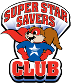 Super Star Savers Club Logo
